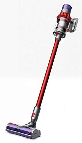 Dyson Cyclone V10 Motorhead beutel- und kabelloser-/Handstaubsauger (inkl. Elektrobürste mit Direktantrieb, Nickel-Cobalt-Aluminium Akku, Wandhalterung und Ladestation)