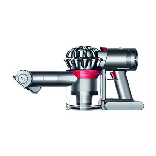 Dyson V7 Trigger beutel- und kabelloser Handstaubsauger (inkl. motorisierter Mini-Elektrobürste, Kombi- und Fugendüse, mit Nickel-Mangan-Cobalt Akku)