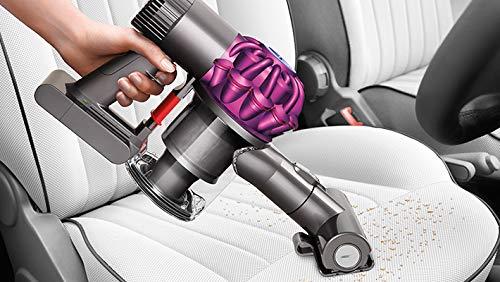 Dyson V6 Motorhead beutel- & kabelloser Staubsauger inkl. Elektrobürste mit Direktantrieb, Kombidüse & Fugendüse | Handstaubsauger mit Lithium-Ionen Akku, Wandhalterung & Ladestation