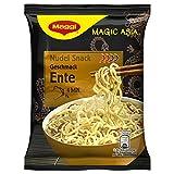 MAGGI Magic Asia Nudel Snack Ente, leckeres Fertiggericht, Instant-Nudeln, mit Entengeschmack, asiatisch gewürzt, 1 Portion, 1 x 65 g