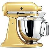 KitchenAid Küchenmaschine Artisan 4,8L Pastell Gelb