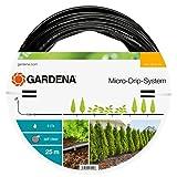 Gardena Erweiterung Tropfrohr für Pflanzreihen oberirdisch 13 mm (1/2 Zoll): Micro-Drip-System-Verlängerung 25 m für Start Sets Pflanzreihen (13131-20)
