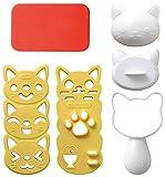Cat Shape Onigiri Maker Mold - Omusubi Nyan