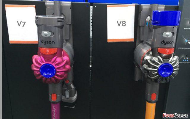 Dyson V7 &V8 – Vergleich der V7 und V8 Modelle und Ausstattungsvarianten